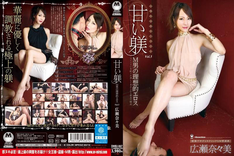 甘い躾 M男の理想的エロス Vol.5 広瀬奈々美の画像