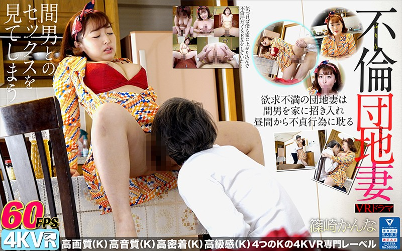 【VR】VRドラマ 不倫団地妻 篠崎かんなの画像